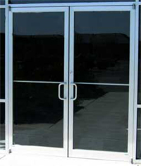Commercail and Storefront Glass Doors